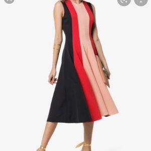 NWT - Roksanda Kalia black pink dress size 16 UK
